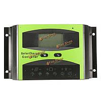 LD4830C 30А 48v ЖК-дисплей батареи PWM контроллер панели солнечных батарей Регулятор зарядки