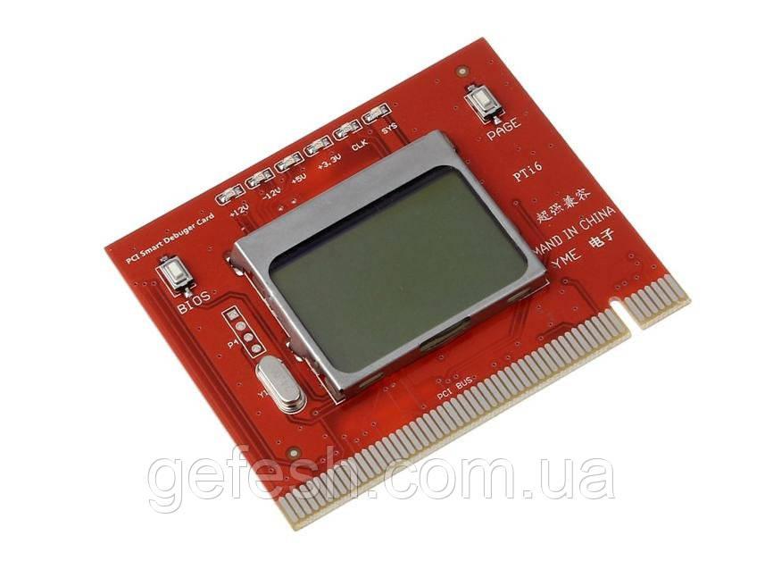 Пост карта post card диагностическая PC LCD экран ЛСД с текстовым оповещением