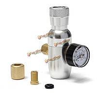 Co2 регулятор бочонок с манометром 60psi co2 инжектора премии регулируется