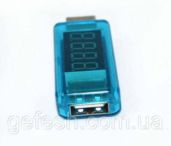 USB тестер зарядки амперметр вольтметр