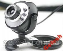 WEB камера веб камера с микрофоном подсветкой