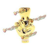 Золотой пластик стиль палец капельного наконечника 3 модели