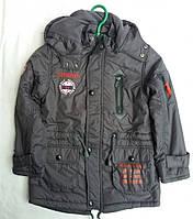 Демисезонная куртка для мальчика на флисе