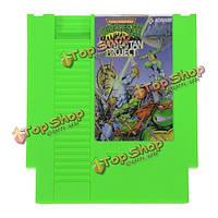 Teenage Mutant Ninja Turtles III 72 Pin 8 Bit Game Card Cartridge for NES Nintendo