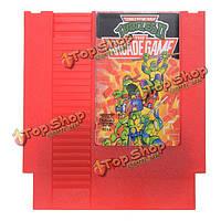 Teenage Mutant Ninja Turtles II 72 Pin 8 Bit Game Card Cartridge for NES Nintendo