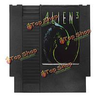 Иностранец 3 72 контактный 8 бит картридж игры карты для NES Нинтендо