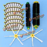 10шт пылесос аксессуары набор фильтров и щетки для irobot румба 500 серий