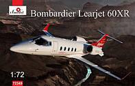 1:72 Сборная модель самолета Bombardier Learjet 60XR, Amodel 72349
