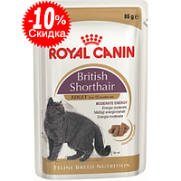 Консервы для британской породы кошек Royal Canin British Shothair Adult , 85г