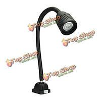 3W 24v 500мм LED алюминиевого сплава гибкий свет ЧПУ станок лампа