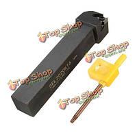 Sel2020k16 20x125мм левая рука токарный threding токарный инструмент для 16 эр 3/8-дюйма лопастей