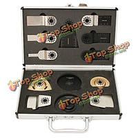 13шт отрезные диски кейс комплект для FEIN Машинка мультимастерной Бош инструмента Makita MultiTool