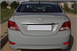 Накладка на дверь багажника Hyundai Accent / Blue / Solaris