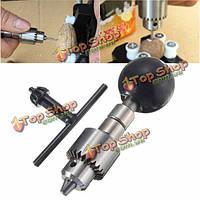 0.3-4мм черный мини-дрель рука с ключом зажимного патрона ручной микро ремесло ручной бурового инструмента