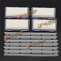 11шт запасные чистильщики принадлежности фильтры клейкие ленты и царапинам чип для Neato XV