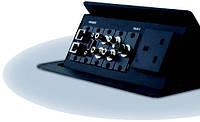 Коробка для подключения и укладки кабелей, встраиваемая в мебель Kramer TBUS-2.