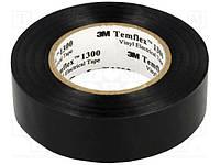 Изоляционная лента 19мм 20м черная 3M TEMFLEX 1300 19X20 CZARNA (3M-TF-1300-19-20BK)