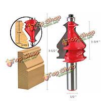 1/2-дюйма круглый хвостовик карбида маршрутизаторбит фрезерный резец гравировальный инструмент