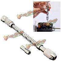 Мини-деревянная спираль визы булавки полуавтоматическая ручная дрель с едой для ювелирного инструмента микро поворот укусила