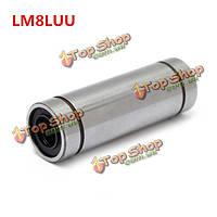 LM8luu 8мм длинный тип линейной мяч движения подшипников скольжения втулка ЧПУ часть
