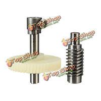 Червячный редуктор набор металла и пластмассы DIY производства мотор шестерни