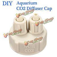 Аквариум крышка от бутылки поделки для растений СО2 диффузор воздуха система генератора