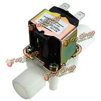 Электрический электромагнитный клапан AC220V 0.02- 0.8Mpa 1/2 дюйма впускной клапан нормально закрытый