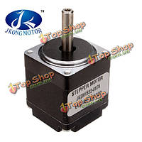 JKM Nema 11 1.8°28 гибридный stepper мотор две фазы 4 провода 32мм для фрезерного станка с ЧПУ