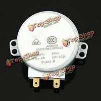 Микроволновая печь поворотный синхронный мотор tyj50-8a7 4rpm переменного тока 220-240В
