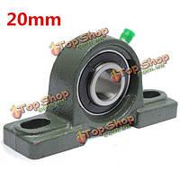 20мм отверстий сплава цинка диаметр блок подушки установлены шарикоподшипник ucp204