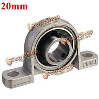 20мм диаметр отверстия опорный установлен шаровой подшипник kp004 сплава цинка