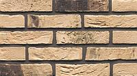 Кирпич ручная формовка Muhr Nr 74 Creme Schiefergrau gesintert Кремовый сланцево-серый испеченный WF 210/45/50