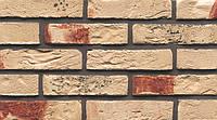 Кирпич ручная формовка Muhr Nr 74 Creme rot gesintert WDF 210/100/65