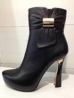 ботинки женские на высоком каб...