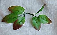 Л-119 Лист розы с каймой