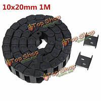 10x20мм r28 1000мм кабель перетащить носитель цепи провод