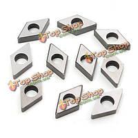 10шт карбида вставки подкладок сиденья dnmg150604/08 sd1504 для mdjnr2020 держателя инструмента