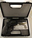 """Револьвер флобера STALKER S 4,5"""",(барабан - силумин) черная рукоять, фото 6"""