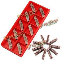 10шт mgmn400-м вставками из карбида 4.0мм для mgehr/mgivr долбежные держатель среза