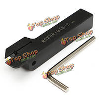 Mgehr  1616-2 16x100мм желобков токарный держатель поворота инструмент для mgmn200 вставки шириной 2мм
