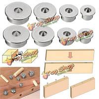 2 комплект дюбель шипа центр указывает контакты 6/8/10/12мм дюбель инструмент совместного выравнивания