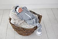 Безразмерная пеленка кокон на молнии Каспер, Енот, фото 1