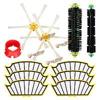 11шт пылесос набор аксессуаров фильтры и щетки для IRobot Roomba 500 серия