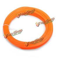 Пла 22м оранжевая нить 1.75 мм для 3D печати перо нити принтера