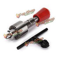 0.3-4мм Mini ручная дрель ручная рука спиральное сверло с ключом Патрон ювелирном ручной дрели инструменты