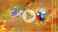 Шаблоны для слайд-шоу «Золотая осень»