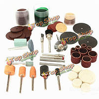 105шт резьба полировать оборудование и аксессуары вращающихся инструментов Принадлежности для полировки Dremel наборы для