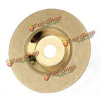 100мм х 16мм алмазные шлифовальные колеса диск твердого сплава Золотой полировки диска