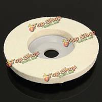4-дюймов круглый войлок полировальные колеса полировщик коврик для стекла металла