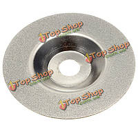 100мм 4-дюйма с покрытием алмазного шлифовального круга шлифовальная машина серебро тон